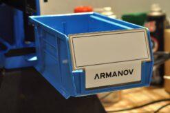 Armanov Case Bin Stopper motato